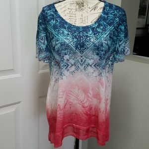 Pretty short sleeved tunic